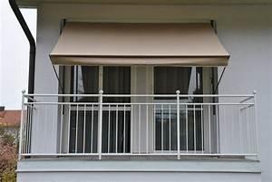 Angerer freizeitmobel klemmmarkise taupe kaufen otto for Markise balkon mit tapete uni braun