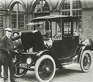 First Electric Car Invented History