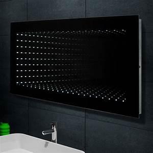 Spiegel Befestigung Wand : design wand spiegel badezimmerspiegel inkl 6400k led beleuchtung 120x60cm 1243b ebay ~ Orissabook.com Haus und Dekorationen