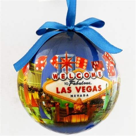 las vegas sign christmas tree ornament christmas crafts