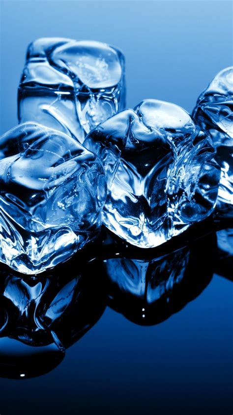 wallpaper ice   wallpaper cubes blue frozen