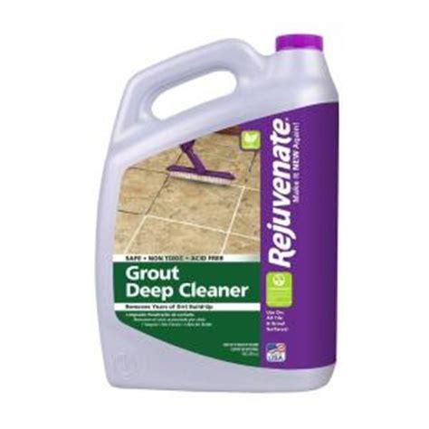 rejuvenate floor cleaner home depot rejuvenate 128 oz bio enzymatic tile and grout