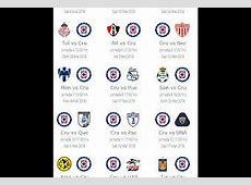 Calendario de Cruz Azul para el Clausura 2018 Paperblog