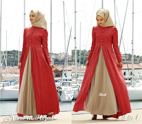 model gamis baju muslim fashion hijab terbaru setelan