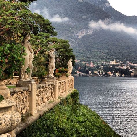 View From Villa Del Balbianello Lake Comoitaly Italy