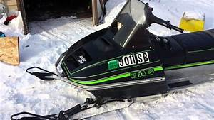 1979 Arctic Cat Jag 3000 Start Up And Rev