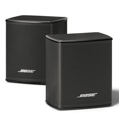 Bose Virtually Invisible 300 Wireless Surround Speakers Pair Black Ebay