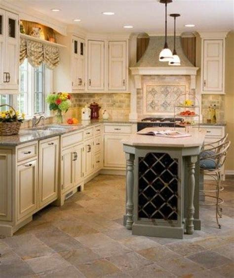 Homeofficedecoration  French Country Galley Kitchen