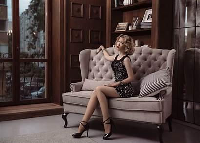 Couch Sitting Legs Interior Novitsky Ilya Wallhaven