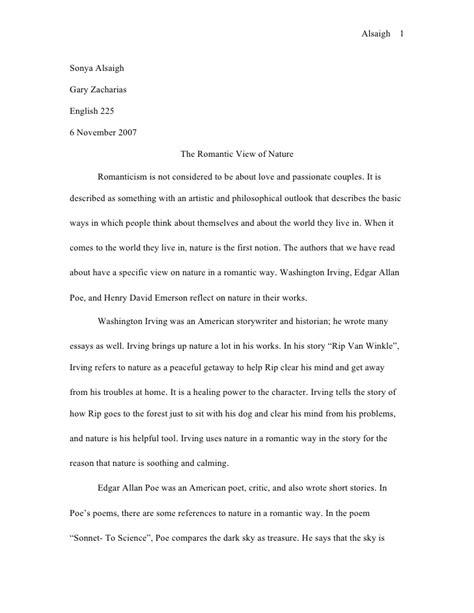 A surprise essay