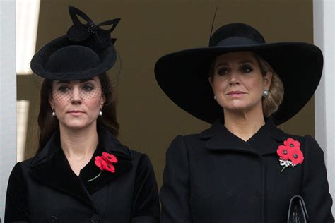 kate middleton  queen maxima   netherlands pay