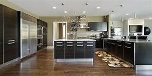 Style Contemporain : une d co de style contemporain dans la cuisine ~ Farleysfitness.com Idées de Décoration