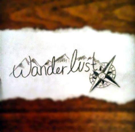 wanderlust tattoo design