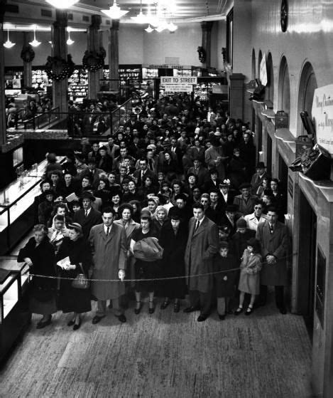retro retail stores what black friday looked like before it was called black 1948