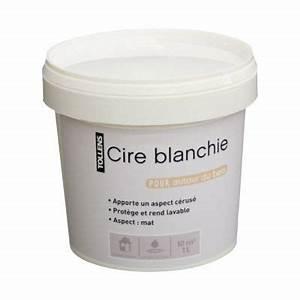Cire Pour Enduit : cire blanchie pour enduit autour du bois 1l castorama ~ Premium-room.com Idées de Décoration