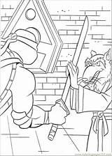 Coloring Leonardo Splinter Ninja Turtles Pages Practices Teenage Mutant Printable Coloringpages101 Pdf sketch template