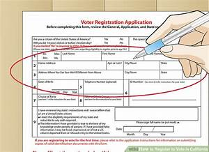 How to Register to Vote in California (with Pictures ...