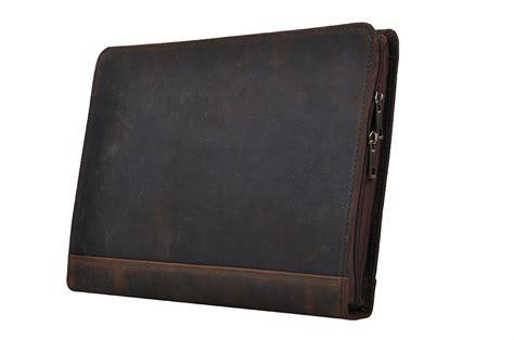 purse organizer for rustic leather organizer laptop portfolio with notepad