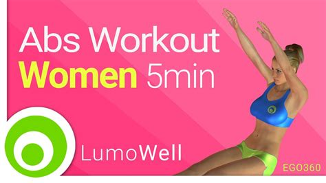 Abs Workout For Women At Home. 5 Minute Ab Exercises (no