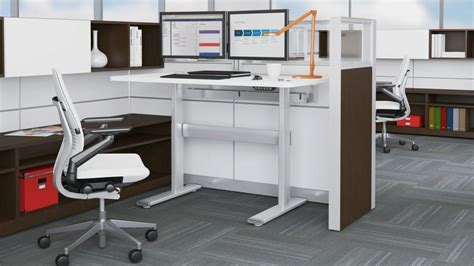 Good Series Height Adjustable Office Benches & Tables ...