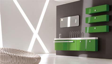 meuble salle de bain colore inspiration une salle de bains verte inspiration bain