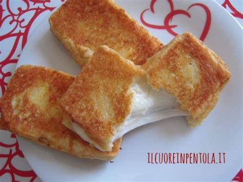 ricetta della mozzarella in carrozza mozzarella in carrozza ricetta mozzarella in carrozza