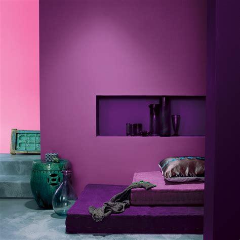 peinture violette pour chambre peinture les 50 couleurs vives à la mode en 2012 un
