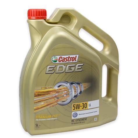 Castrol Edge 15669e Titanium Fst Ll 5w 30 5 Liter Mercedes Vw Audi Ebay