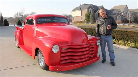 Chevy Stepside Custom Pickup Truck Classic Muscle Car