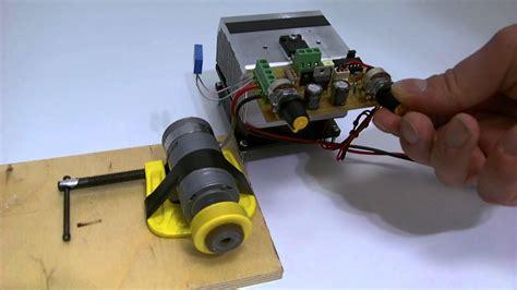 pwm dc motor speed controller  tl acmyhv pcb youtube