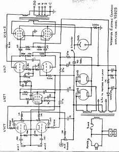 Webster 95b25 14dbw Pa Amplifier  2 6l6 Schematic