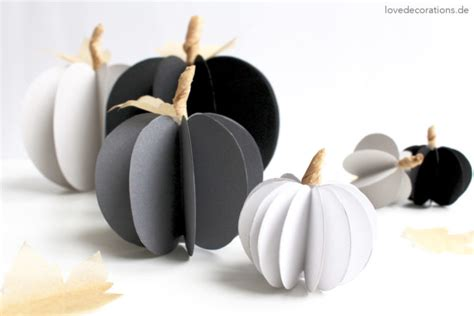 Kuerbis Dekorationsideenweisse Kuerbisse 2 by 14 Diy Paper Decorations For Fall And Thanksgiving