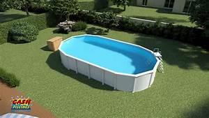 Piscine Ovale Hors Sol : piscine acier cora ~ Dailycaller-alerts.com Idées de Décoration