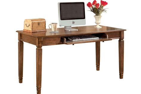 large home office desk hamlyn home office large leg desk by ashley at gardner white