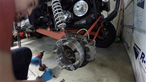 How To Grease Rzr1000 Wheel Bearings With Two Guys Hobbies