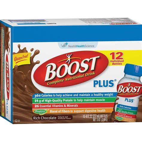 Amazoncom  Boost Plus Chocolate Ready To Drink, 8 Fl Oz