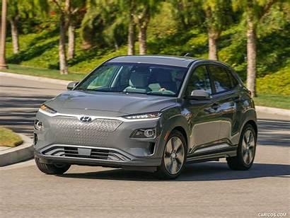 Kona Hyundai Ev Electric Range Cars Silver