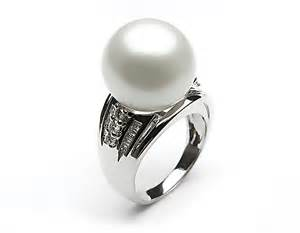 pearl engagement rings meaning white south sea pearl ring 11 12mm aaa pearl rings pearl hours