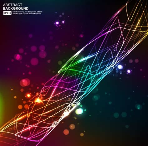 elements  neon abstract vector backgrounds