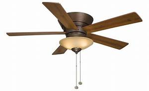 Indoor ceiling fans with light brushed nickel fan
