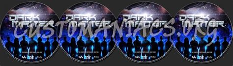 dark matter season  dvd label dvd covers labels