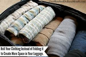 how to fold money into pants do you roll or fold your clothes when packing one