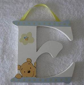 winnie the pooh soft fuzzy wall letters by brooke081603 With soft letters for nursery wall