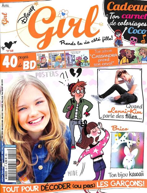 disney girl   abonnement disney girl abonnement magazine par toutabocom
