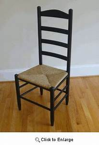 Morisette Ladder Back Chair with Rush Seat - Chairs
