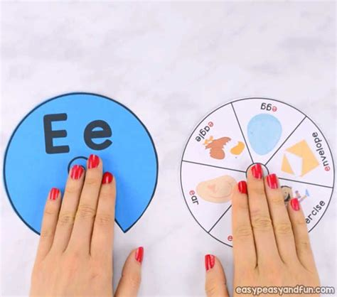 printable alphabet spinners easy peasy  fun