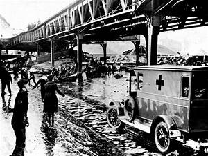 Molasses disaster in Boston's North End in 1919 showed the ...
