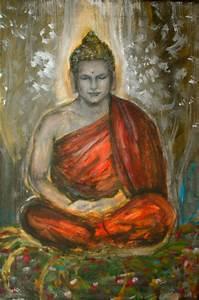 Buddha Sprüche Bilder : buddha jugendstil meditation meditation buddha jugendstil malerei von natsuko h bei kunstnet ~ Orissabook.com Haus und Dekorationen