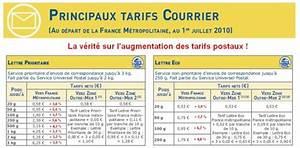 Envoie De Colis Par La Poste : tarif postal lettre en france ~ Medecine-chirurgie-esthetiques.com Avis de Voitures