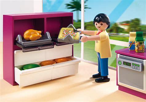 la cuisine au micro onde playmobil 5582 cuisine avec îlot achat vente univers